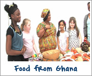 Foods from Ghana
